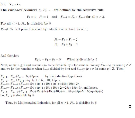 Solved: For My Math 308 Class (Bridge To Advanced Math) I