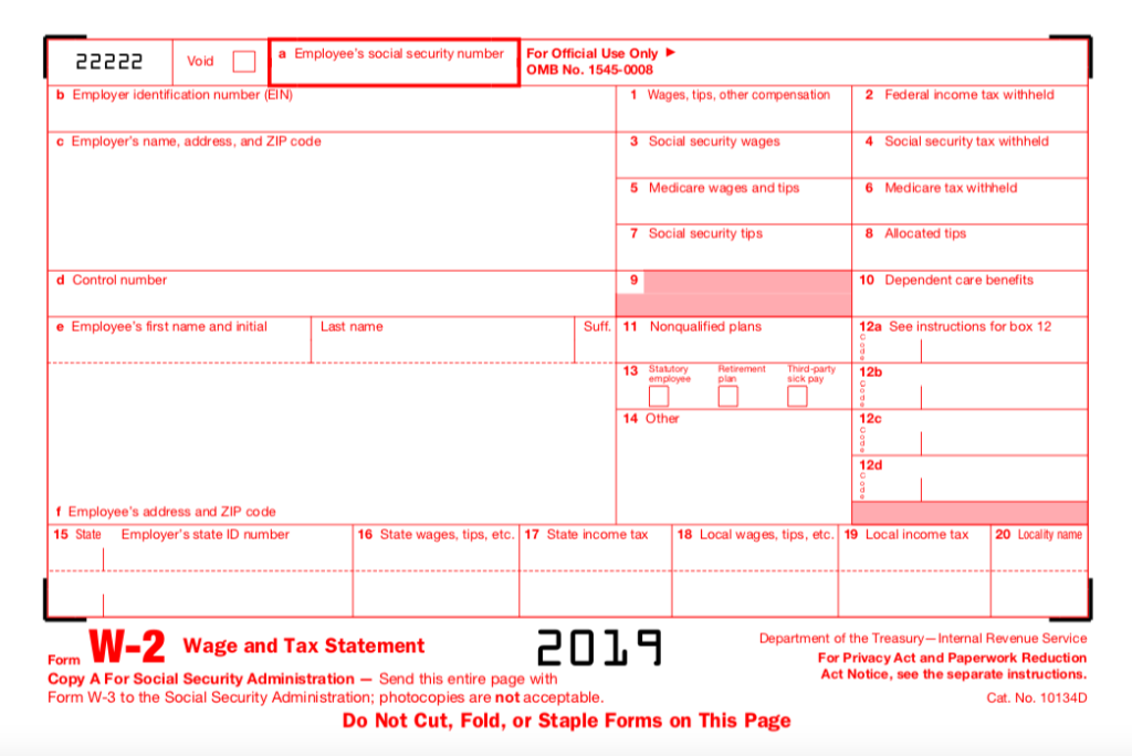 w2 form 12d  Solved: Using The Information Provided Fill In A W7 Form ...