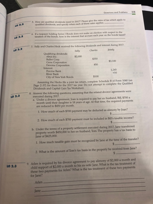 Solved: Questions And Problems 2-35 5  How Are Qualified D