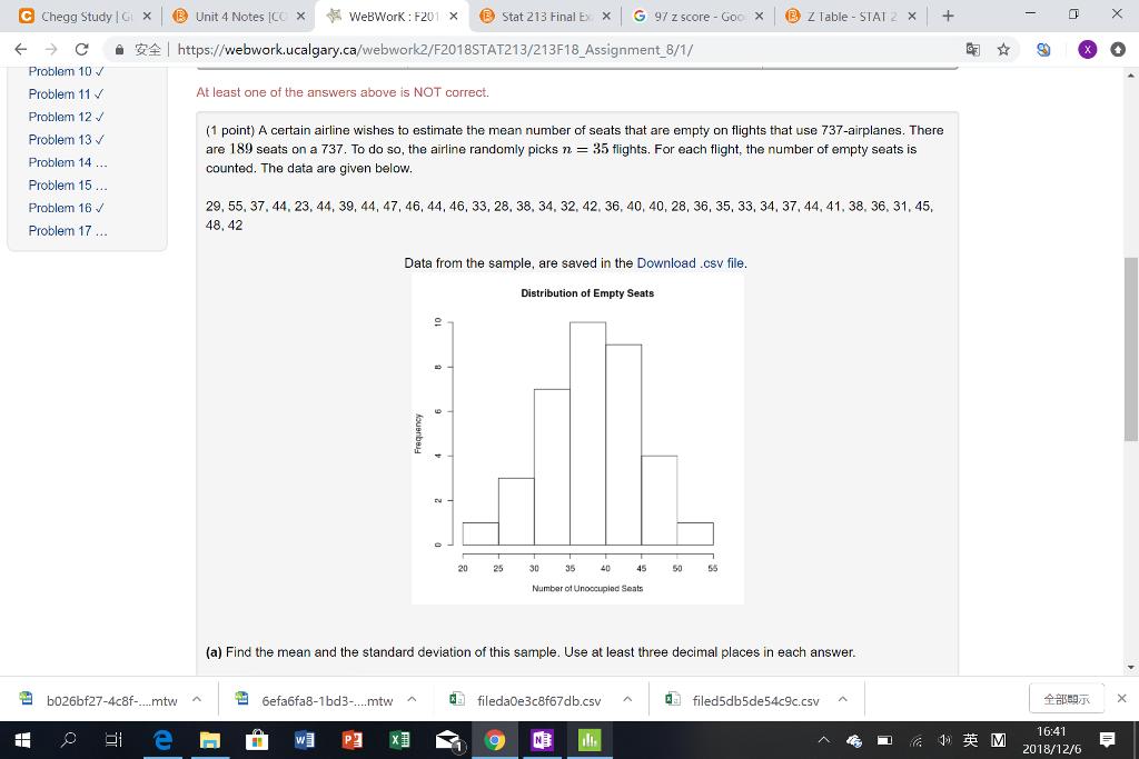 Solved: E Chegg Study | G > Unit 4 Notes [C( 长WeBWorK : F