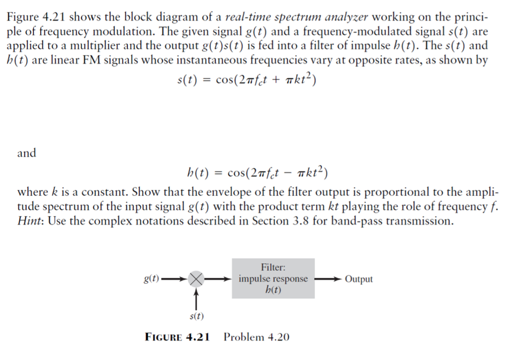 Solved: Figure 4 21 Shows The Block Diagram Of A Real-time