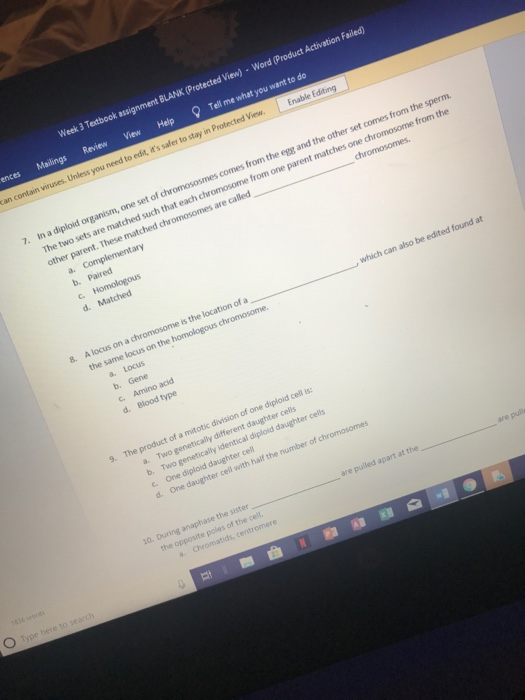 Solved: Week 3 Textbook Assignment BLANK (Protected View