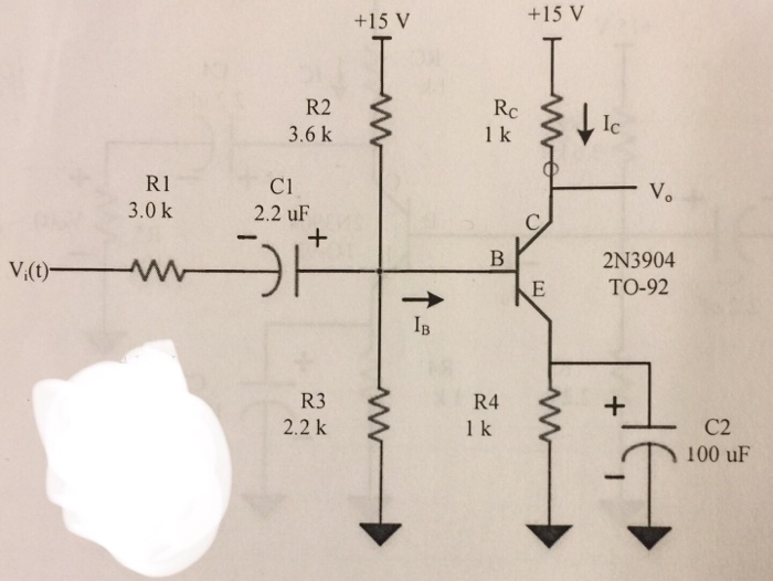Cl B Amplifier Circuit Diagram | Solved Determine The Output Voltage Vo For The Following