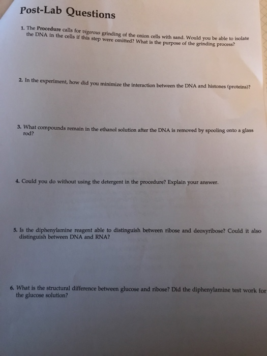 Solved: Post-Lab Questions 1  The Procedure Calls F Or Vig