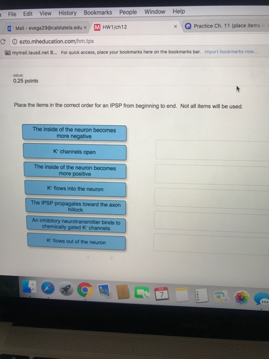 Begining anatomy physiology homework help