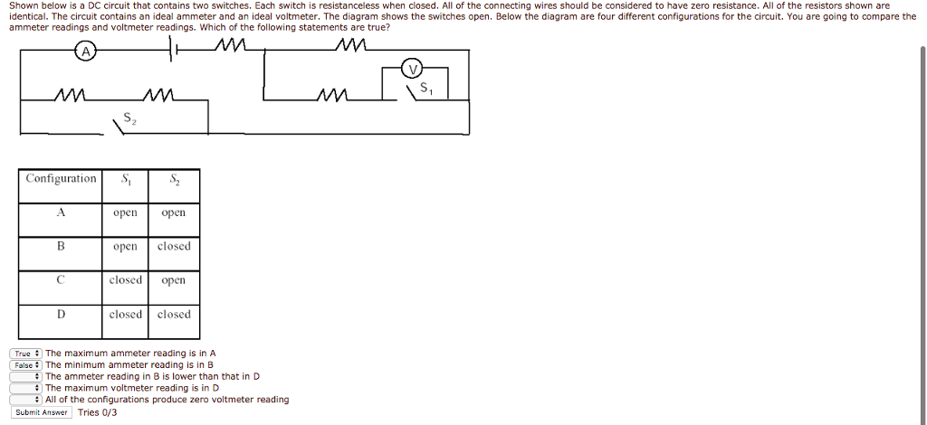 Solved: Circuits Shown Below Is A DC Circuit That Contains ...