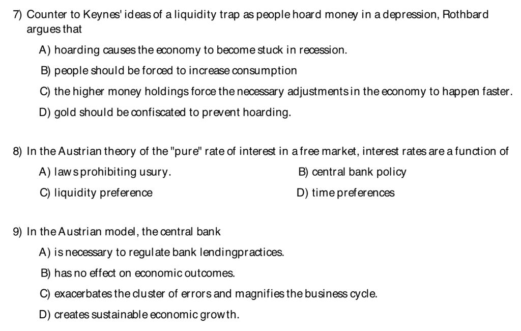 Solved: 7 Counter To Keynes' Ideas Of A Liquidity Trap As ...