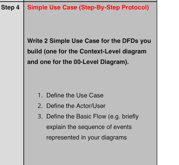 Solved Step 3 Using Diagramming Software E G Lucidchart