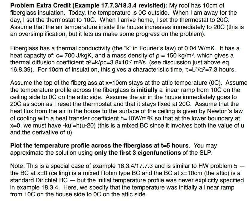 Problem Extra Credit (Example 17 7 3/18 3 4 Revisi