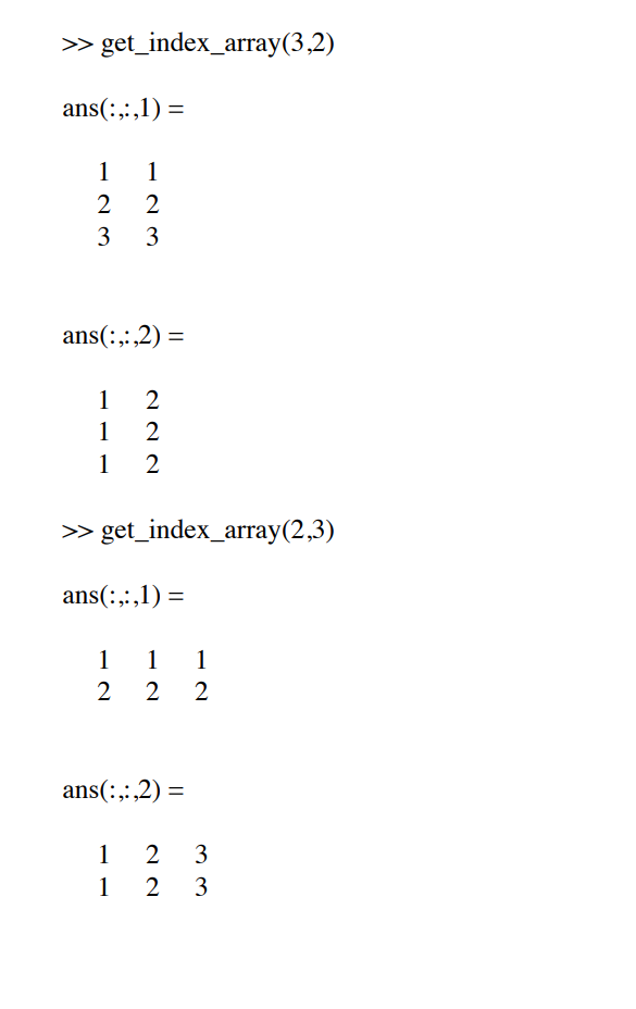 Solved: Matlab Fuction Write A Function Which Takes Two In
