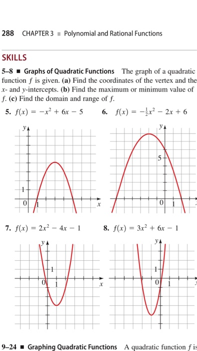 Solved: 288 CHAPTER 3Polynomial And Rational Functions SKI