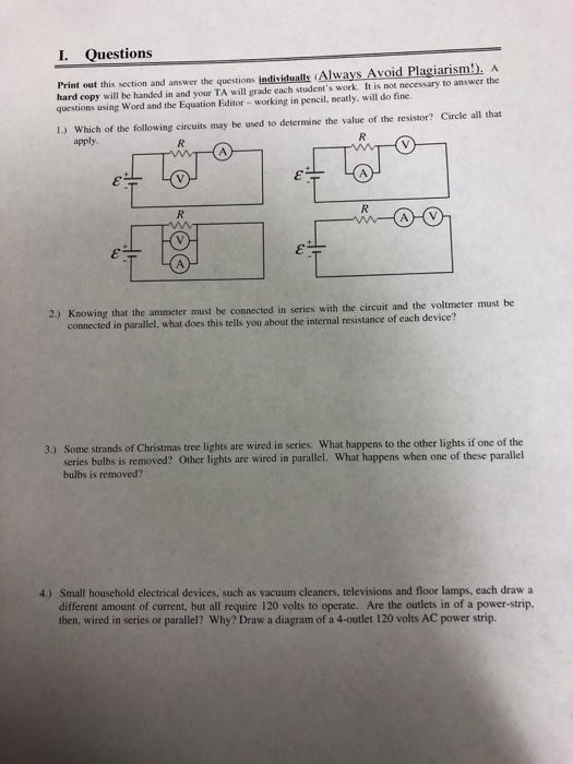 Draw A Circuit Diagram With 3 Bulbs In Series