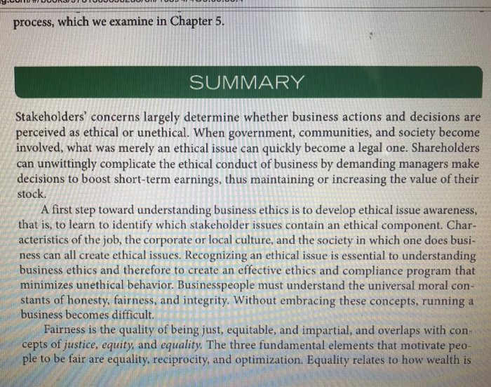 Solved: On Pages 85 84 There Is A List Of 14 Ethical Issue