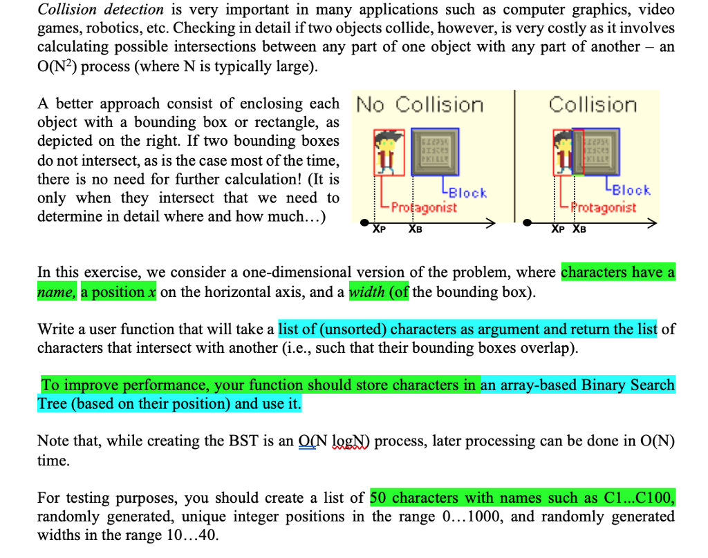 Solved: Collision Detection Is Very Important In Many Appl