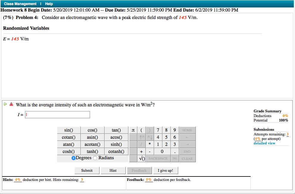 Solved: Class Management I Help Homework 8 Begin Date: 5/2