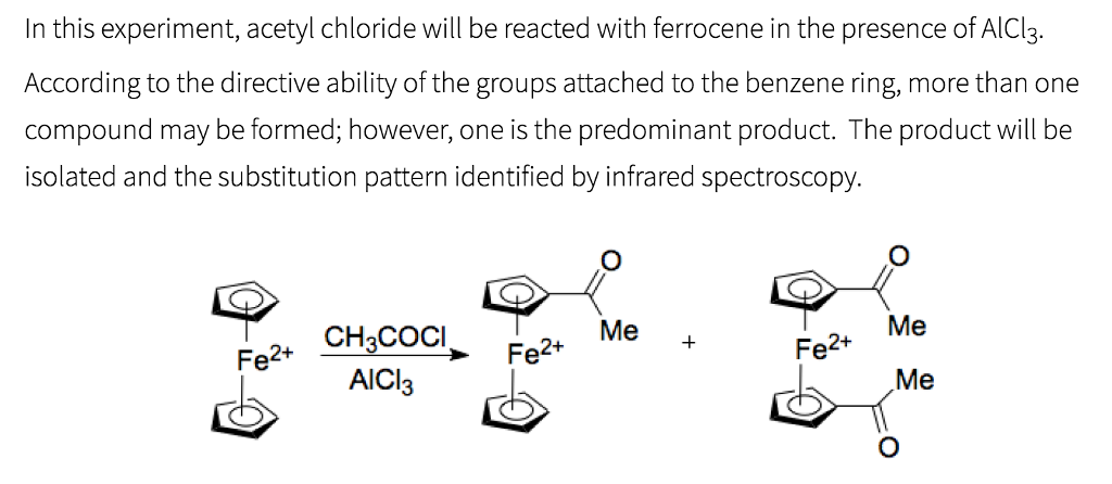 Solved: In This Experiment, Acetyl Chloride Will Be Reacte