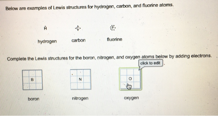 Solved Complete The Lewis Structures For The Boron Nitro