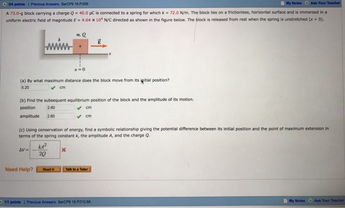 Solved C Using The Conservation Of Energy Find A Symbol