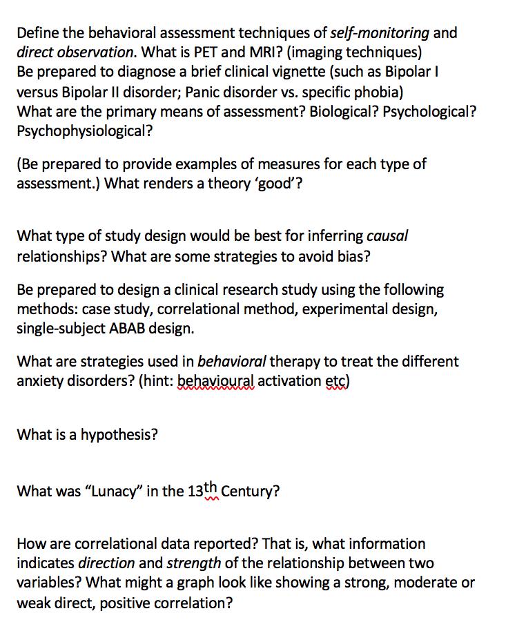 observation vs case study