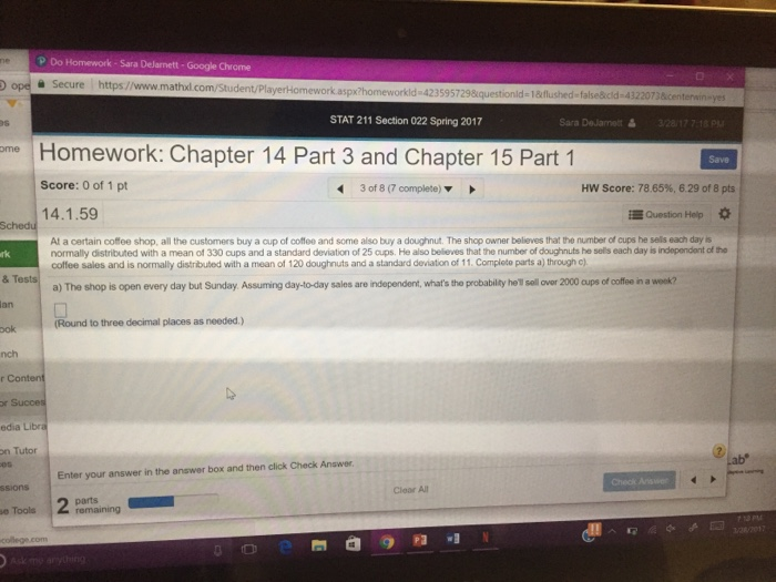 P Do Homework Sara Dejarnett-Google Chrome Secure     | Chegg com