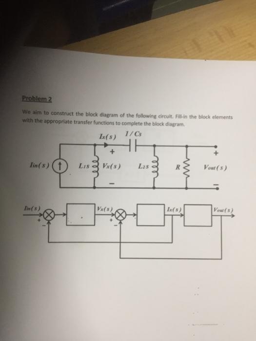 media%2F720%2F720b5c83 27bf 473a 8211 5c5c46dfd187%2Fimage problem 2 we aim to construct the block diagram of chegg com