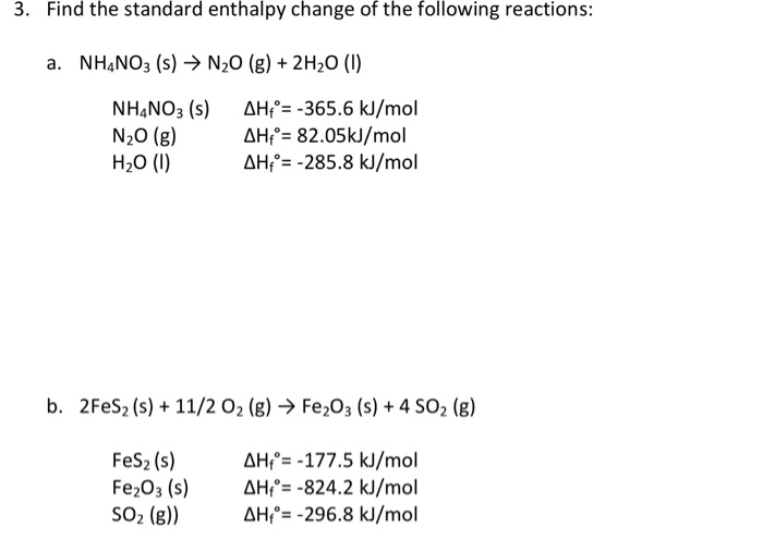 Solved: Concept Check Thermal Chemical Equation, Enthalpy ...