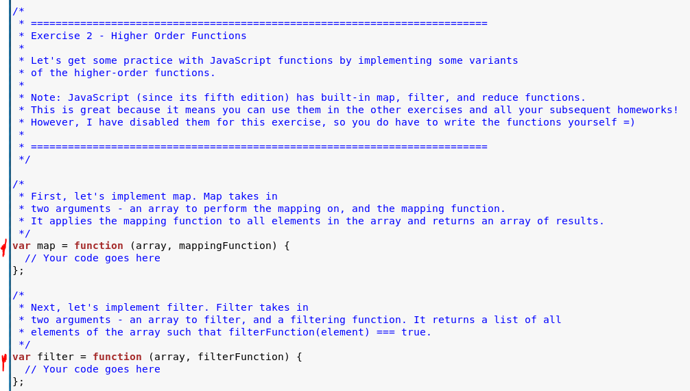 Writing Two Functions As The Following Instruction    | Chegg com