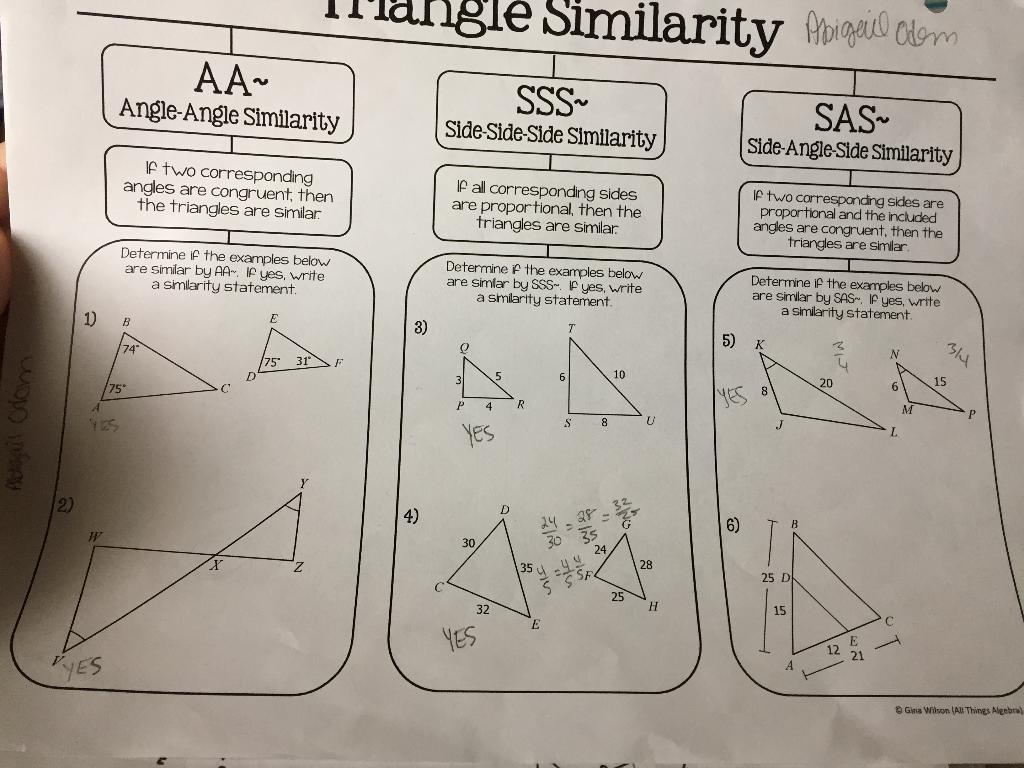 Algebraic Proofs Worksheet Answers Gina Wilson - worksheet