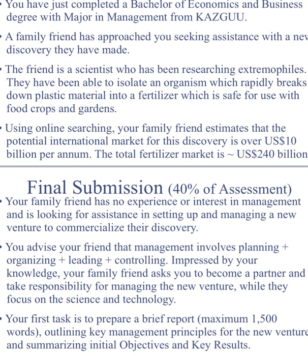 An Essay On English Language You Have Just Completed A Bachelor Of Economics And Business Degree With  Major In Management From English Essay Questions also Essay On Photosynthesis Solved Could You Please Write An Essay About This Topic B  Pmr English Essay