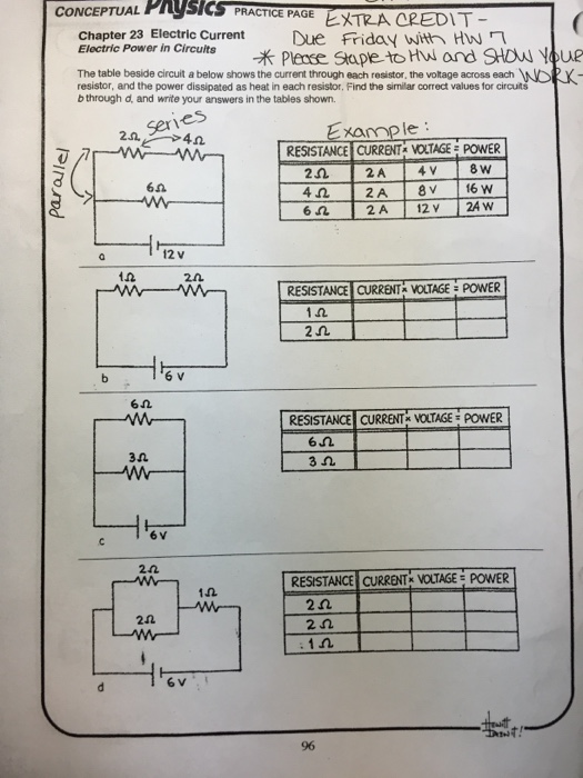 Solved: CONCEPTUAL PRgsICS PRACTICE PAGE Chapter 23 Electr