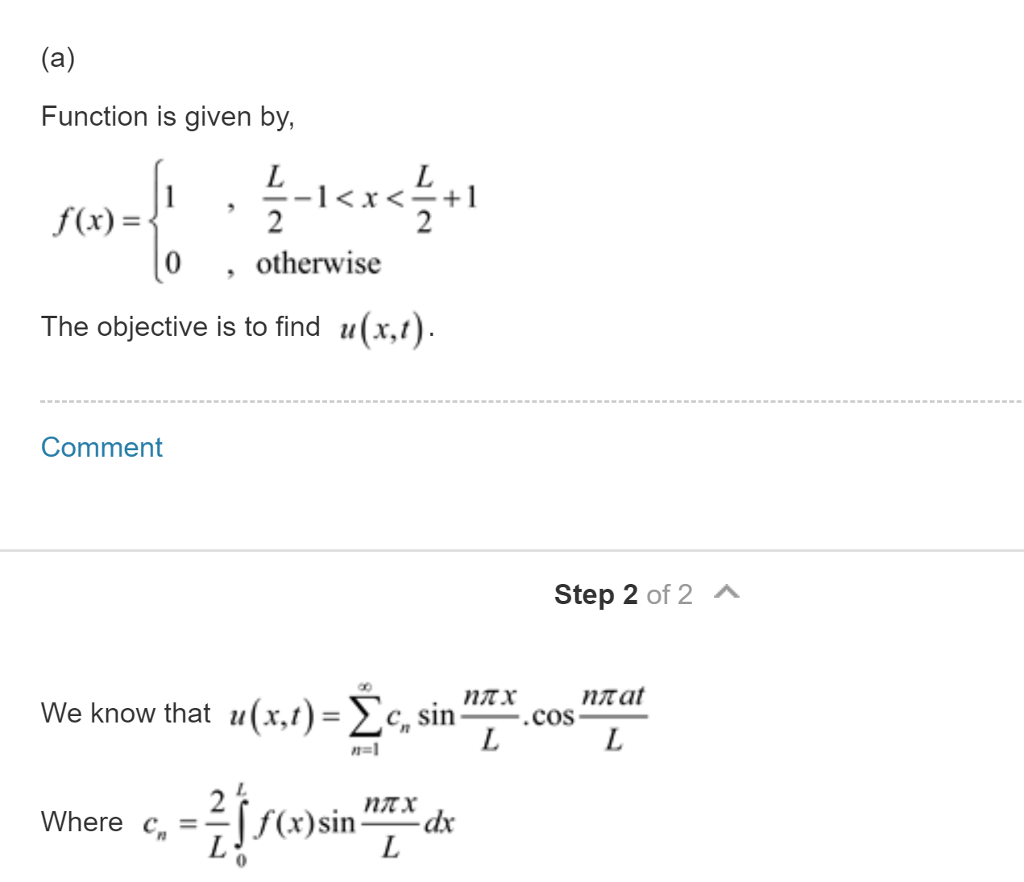 Solved: [Wave Equation, PDE] Can We Immediately Use The Gi