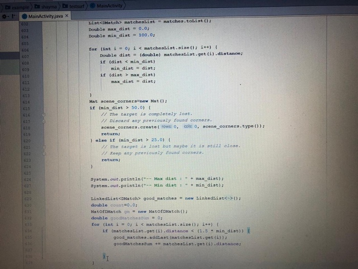 This Is My Code I Work In Android Studio With Open