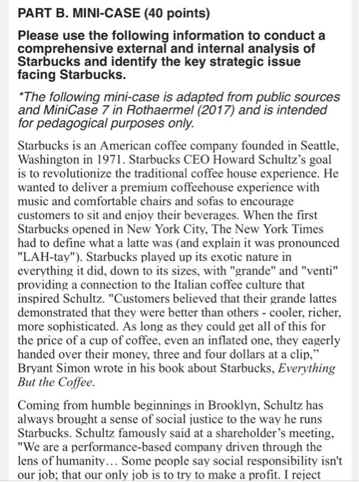 what are the major sources of risk facing starbucks and discuss potential solutions Q2) what are the major sources of risk facing the company discuss potential solutions a2) being such a major international brand-starbucks is likely to face certain risks to begin with, starbucks has managed to saturate most of its market in united states according to sources, there.