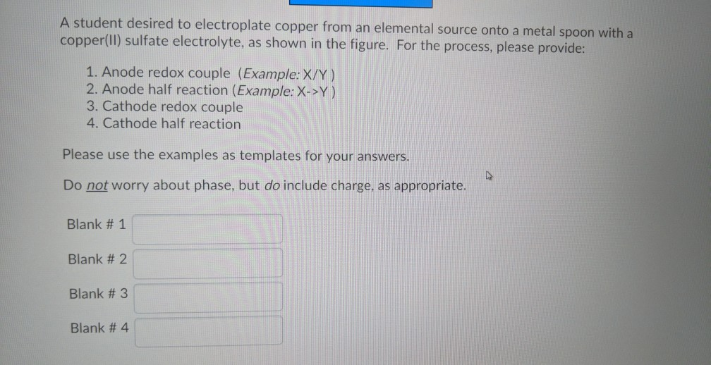 Solved: Question 3 (10 Points) Battery Cu Cus04 A Student