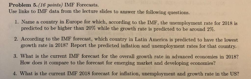 IMF datant