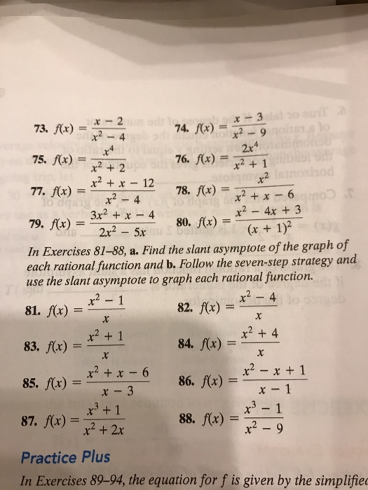 �9ᢹf�x�_Solved:F(x)=X-2/x^2-4F(x)=X-3/x^2-9F(x)=X|Chegg.com