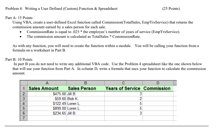 Solved: Answer All Questions In The Single Excel Workbook