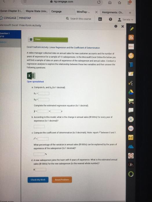 Solved: à Ng cengage com Quran Chapter 3 Wayne State Univ