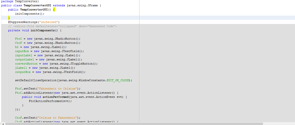 Solved: I Already Created The GUI Using The Netbeans Drag