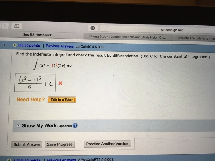 chegg homework answers