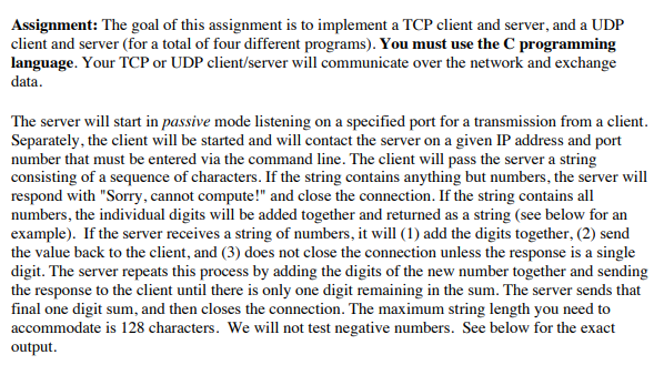 Starter Code Here: Example UDP C Client: Http://ww