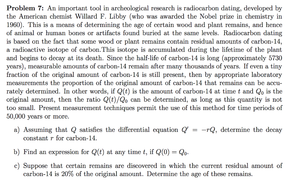 multiple choice questions on carbon dating