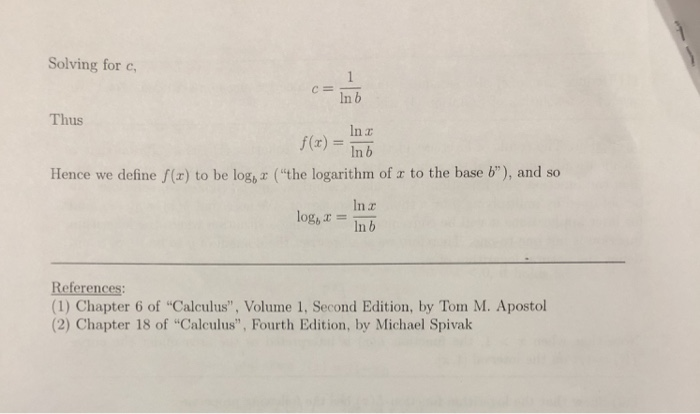 Solved: Calculus Homework  I Believe All The Questions Are