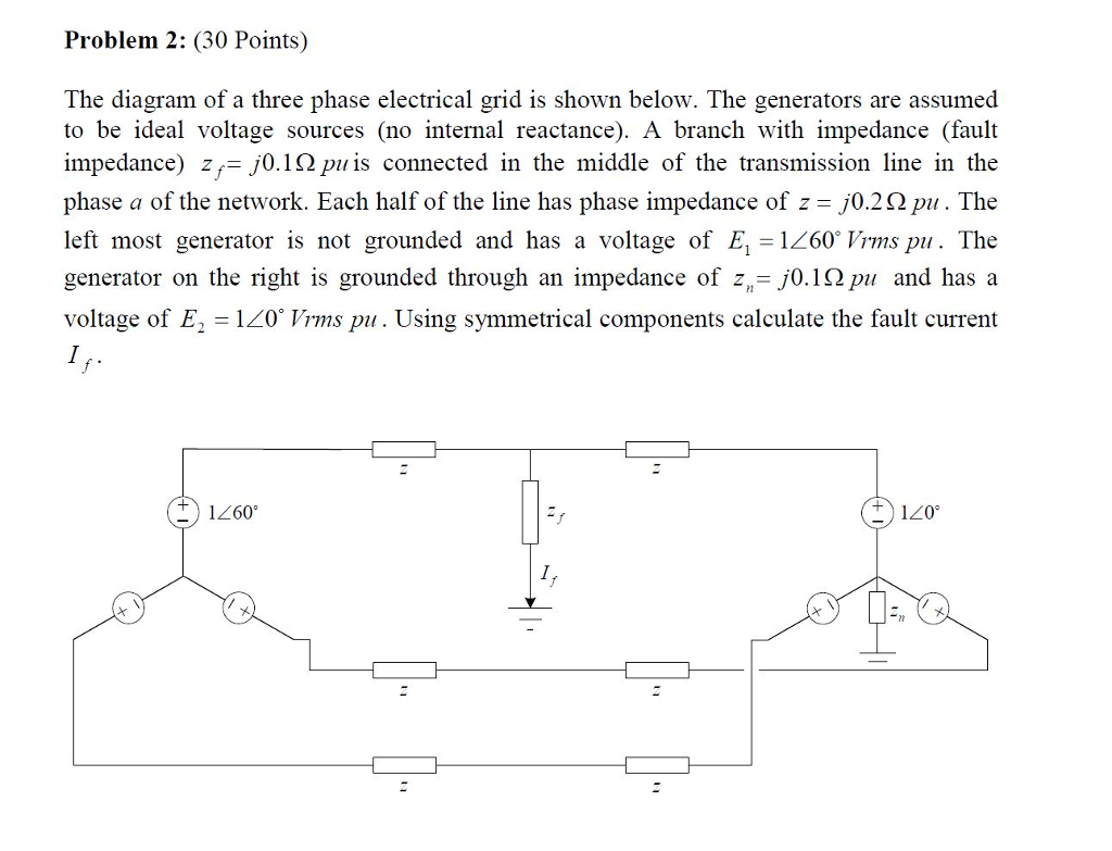 Amazing Solved Problem 2 30 Points The Diagram Of A Three Phas Wiring Database Hyediarchgelartorg