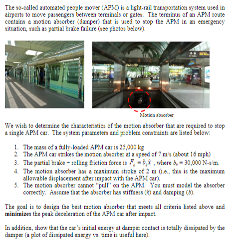 The So-called Automated People Mover (APM) Is A Li