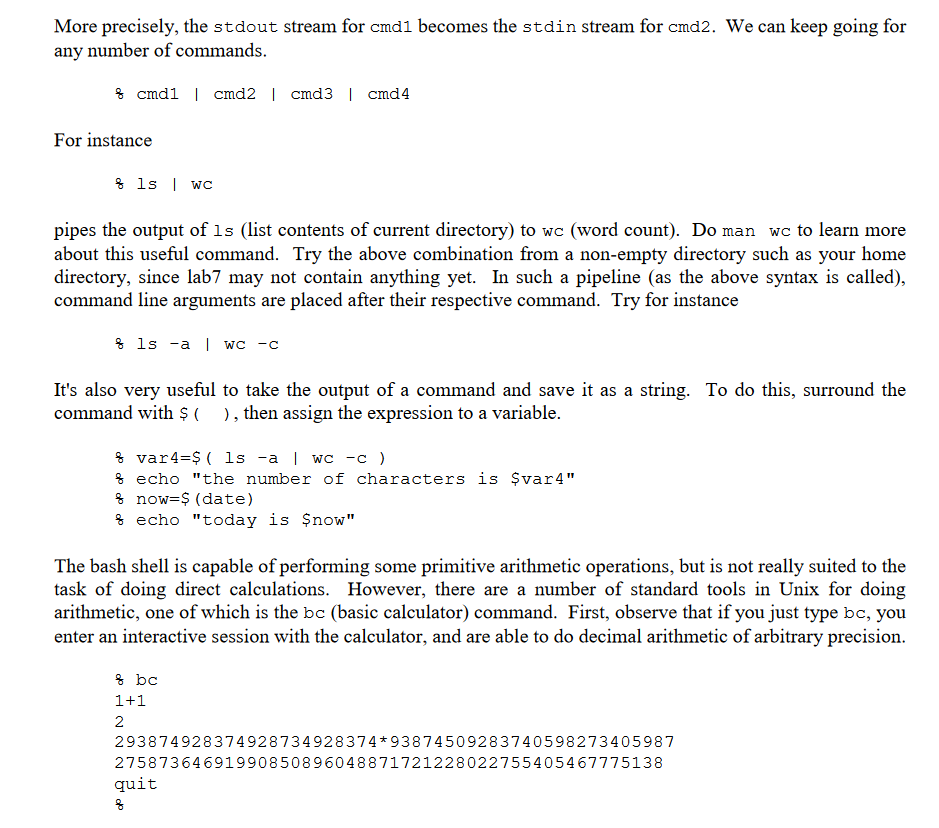 In This Assignment You Will Write A Bash Script Th