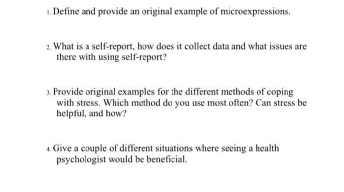 Solved: 1. Define And Provide An Original Example Of Micro ...