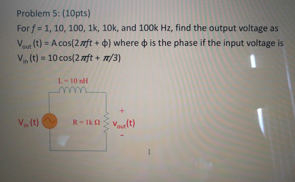 Solved Problem 5 10pts Forf 1 10 100 1k 10k And 1