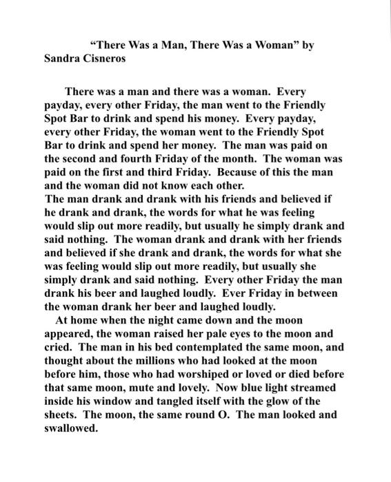 short story and summary
