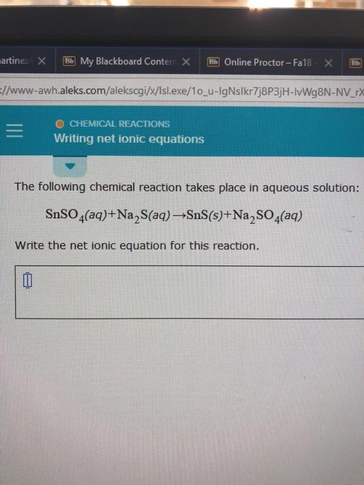 Solved: Artine × My Blackboard Conter × 厕Online Proctor-F